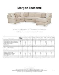 Rowe Upholstery Morgan Sectional By Rowe Furniture