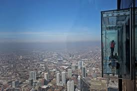 glass skydeck at chicago u0027s willis tower formerly sears tower