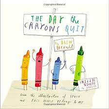 the day the crayons quit drew daywalt oliver jeffers