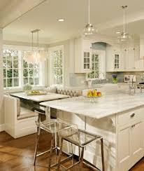 modern breakfast nook kitchen modern kitchen wood cabinets curved