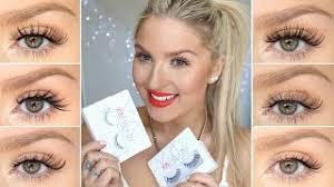 how to apply false eyelashes xobeauty lash try on u0027s beautstar
