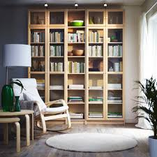 Ikea Billy Bookcase White by Create A Bright And Calm Reading Corner In Birch And White