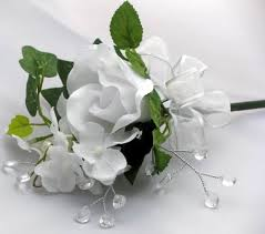 Corsage And Boutonniere Prices Boutonniere Or Corsage Silk Hydrangea Rose Corslkwhtrse