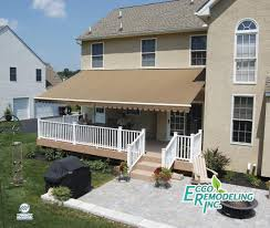Deck Awning Awning Gallery Awnings And Sunscreens Ecco Sunroom And Awning
