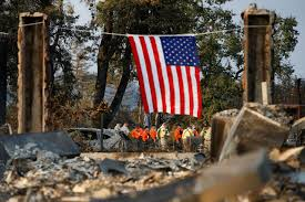 Wildfire Jumps California Freeway Torches Cars by California Wildfires Death Toll Reaches Staggering 35