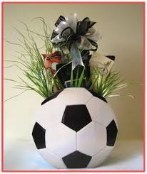 gift ideas for soccer fans how to make floral volleyball arrangement google search