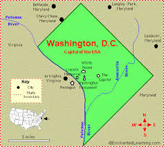 map usa dc district of columbia washington d c facts map and symbols