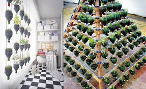 Bottle Garden Ideas 13 Plastic Bottle Vertical Garden Ideas Houz Buzz
