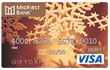 bank gift cards gift cards midfirst bank