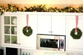 christmas decorations for kitchen cabinets christmas decorations for kitchen cabinets full size of kitchen