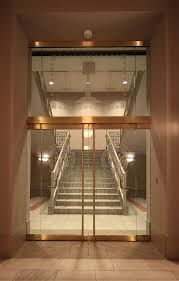 Open Staircase Ideas Luxury White Panels Open Staircase With Double Glass Frameless