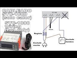 cableado termostato stc 1000 stc 1000 wiring youtube