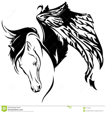 pegasus vector stock image image 24743201