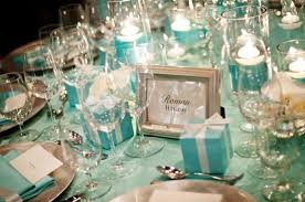 Tiffany Blue Candy Buffet by Partydq Trend I Love Tiffany Blue Party