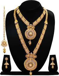 gold beaded necklace india images Beads jewellery buy beads jewellery online at best prices in jpeg