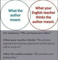 Memes About English Class - english class explained funny