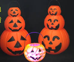 Halloween Lighted Pumpkin Decorations by Lighted Halloween Bucket Lighted Halloween Bucket Suppliers And