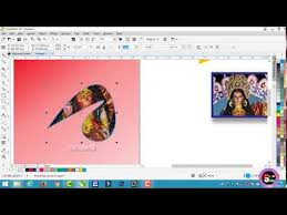 tutorial corel draw power clip access youtube