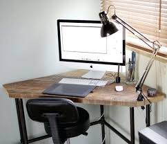 Diy Corner Desk Ideas Diy Corner Desk Corner Desk Building Plans Image Of Wood Standing