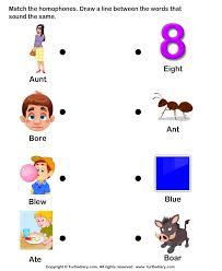 54 best homonyms homophones images on pinterest word study