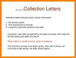 7 sample of collection letter in business job letteres