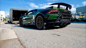 first lamborghini delivery first lamborghini performante in canada youtube