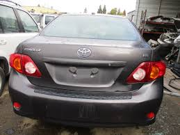 09 toyota corolla le 2009 toyota corolla le gray 1 8l at z16166 rancho toyota recycling