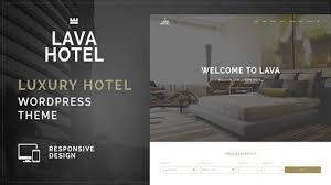 lava luxury hotel wordpress theme themeforest website