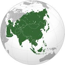asia globe map airports map all world maps