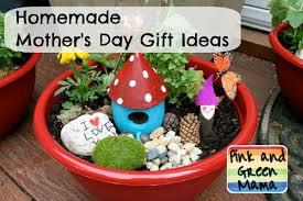 pink and green mama homemade mother u0027s day gift ideas