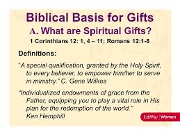 biblical gifts leverage in living and leading ppt