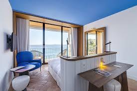 chambre vue mer nos chambres hotel rayol canadel sur mer le bailli de suffren