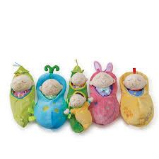 amazon com manhattan toy snuggle pod sweet pea first baby doll