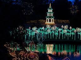 christmas light displays southern living