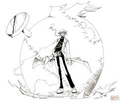 soul eater coloring pages free coloring pages