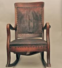 Antique High Back Chairs Antique Upholstered Rocking Chair Inspirations Home U0026 Interior