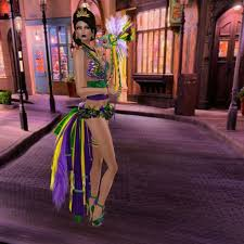 mardi gras skirt another from the miss metaverse prelims jameesjewels