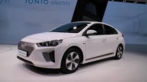 hyundai car models hyundai ioniq electric car offered on u0027ioniq unlimited