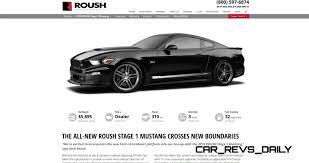 Black Roush Mustang 2015 Roush Mustang Supercharger Kit Delivers 600 Horsepower