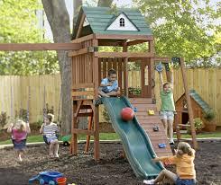 Natural Playground Ideas Backyard Easy Yet Fun Backyard Playground Ideas World Style