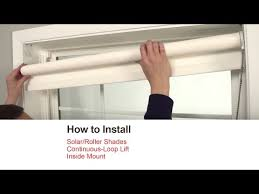 How To Install A Roman Shade - how to install blinds and shades bali blinds and shades