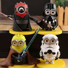 minions despicable me 2 cos black and white soldiers wu wars