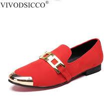 wedding shoes europe aliexpress buy vivodsicco new men velvet loafers party