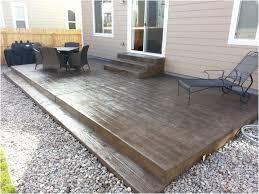 Backyard Floor Ideas Backyard Backyard Flooring Imposing Backyard Sted Concrete