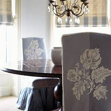 classic fabric dining room chairs