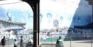 last game at yankee stadium baltimore orioles vs new york mural across river st crop zoom 1897x970