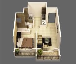 1 bedroom bungalow floor plans 1 bedroom apartments under 500