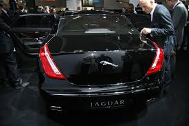 jaguar back jaguar xj at frankfurt motor show photos 1 of 17