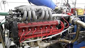 ferrari engine twin turbo ferrari testarossa on engine dyno youtube