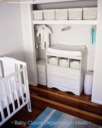 nursery closet organization easy diy baby closet organization